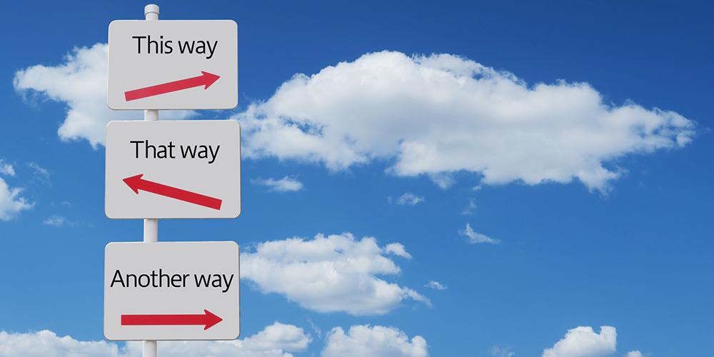 3つの道しるべ