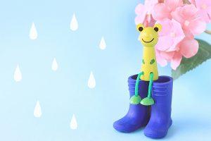 梅雨時期のイメージ写真