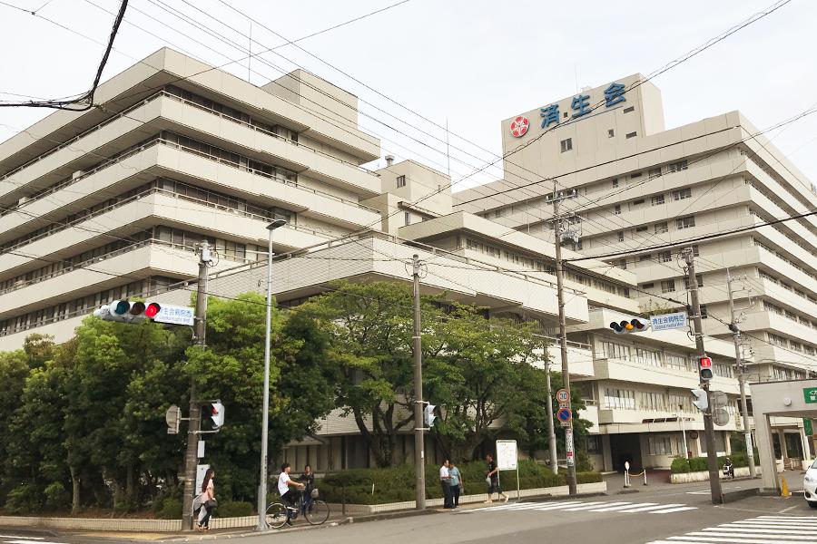 静岡済生会総合病院の外観写真