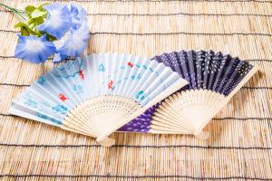 日本の夏の象徴である扇子