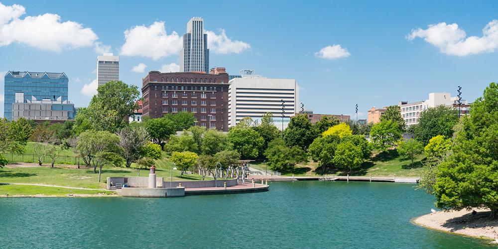 オマハ市の風景写真